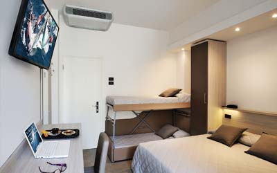 Room Vela with bunk beds