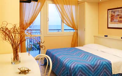 Vela room with sea view